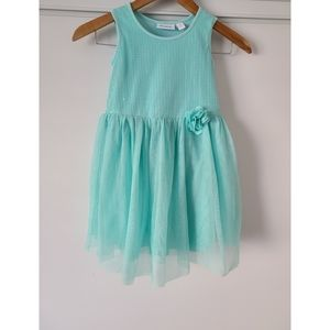 The Children's Place Girl's Teal Sequined Dress